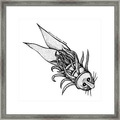Arm Fish Framed Print by Karl Addison