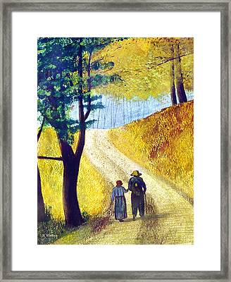 Arm In Arm Framed Print