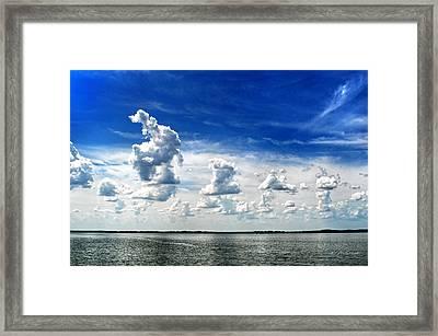 Armada Framed Print