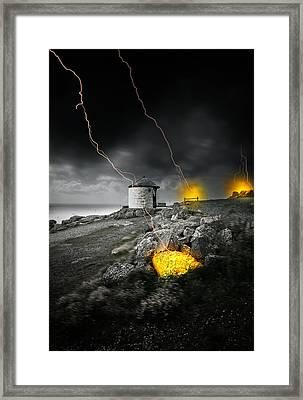 Armageddon Framed Print by Jaroslaw Grudzinski