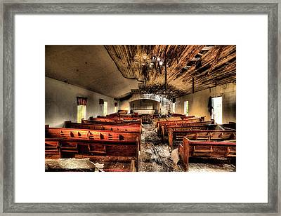 Framed Print featuring the photograph Armageddon by JC Findley