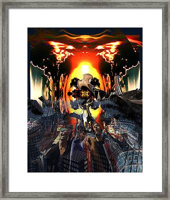 Armageddon Framed Print by Mason BenYair
