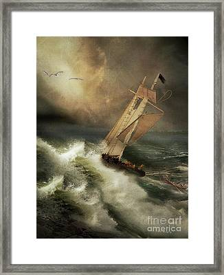 Framed Print featuring the photograph Armageddon by Nancy Dempsey