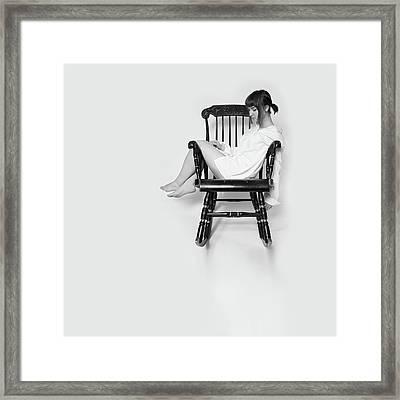 Armchair #5562 Framed Print