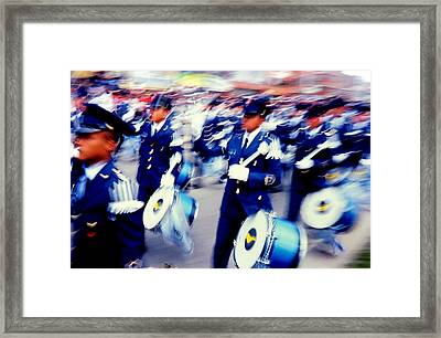 Armed Forces Of Colombia 1 Framed Print by Daniel Gomez