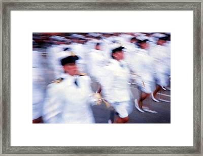 Armed Forces Of Colombia 10 Framed Print by Daniel Gomez