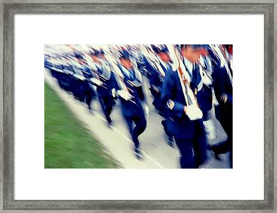 Armed Forces Of Colombia 14 Framed Print by Daniel Gomez