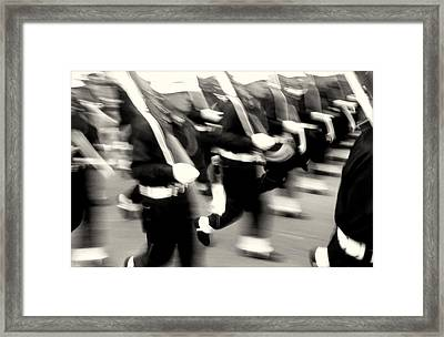Armed Forces Of Colombia 4 Framed Print by Daniel Gomez