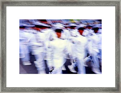 Armed Forces Of Colombia 5  Framed Print by Daniel Gomez