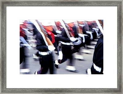 Armed Forces Of Colombia 6 Framed Print by Daniel Gomez