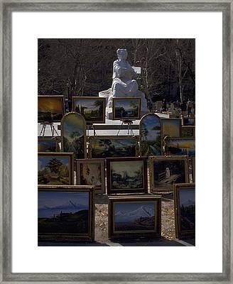 Armenian Art In The Park Framed Print