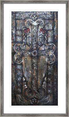 Armenian Cross Stone Framed Print