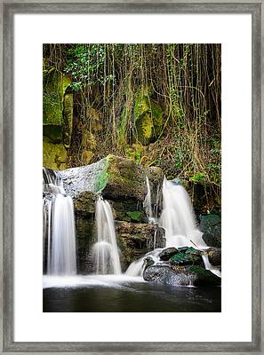 Armes Waterfall II Framed Print by Marco Oliveira