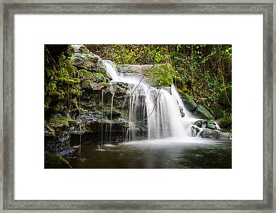 Armes Waterfall IIi Framed Print by Marco Oliveira