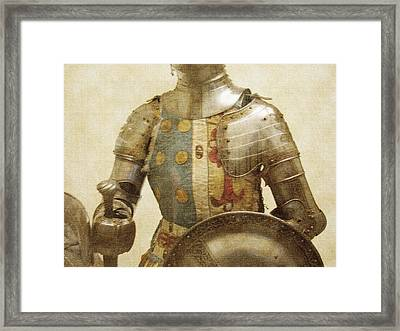 Armor Hot Dog Framed Print by Kevin  Sherf