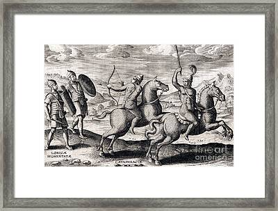 Armored Breastplates, Ancient Roman Framed Print