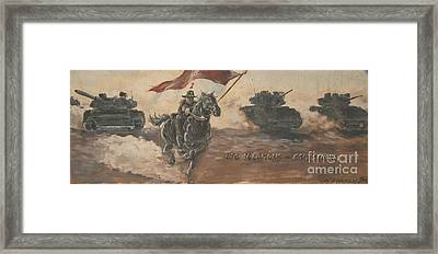 Armored Cavalry Framed Print by Unknown