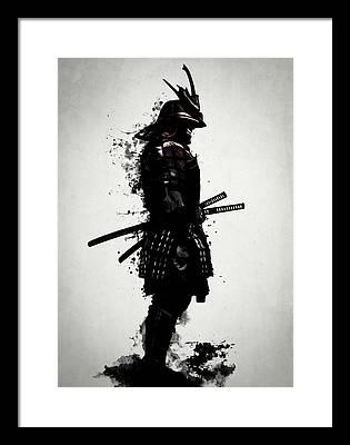 Samurai Framed Prints