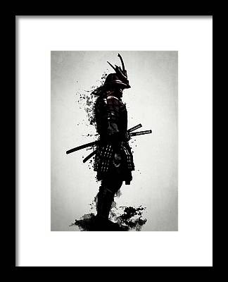 Warrior Framed Prints