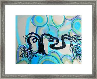 Arms Across The Forest Framed Print