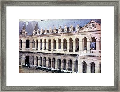 Army Museum Paris France Framed Print