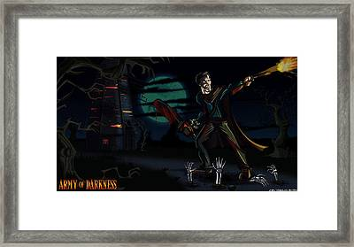 Army Of Darkness Framed Print by Jason Diesbourg