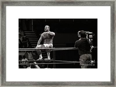 Arn Anderson Framed Print by Bernd Billmayer