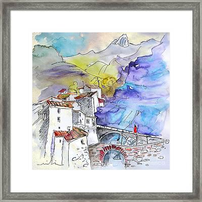 Arnedillo In La Rioja Spain 02 Framed Print by Miki De Goodaboom