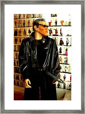 Arnie Gunning Framed Print by Jez C Self
