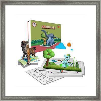 Arnimals Framed Print