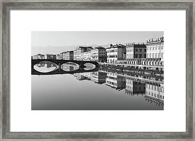 Arno Reflections 1 Framed Print