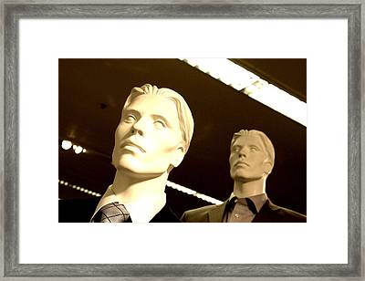 Arnold And Graham Framed Print by Jez C Self