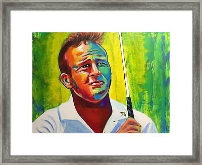 Arnold Framed Print by Peter Luke