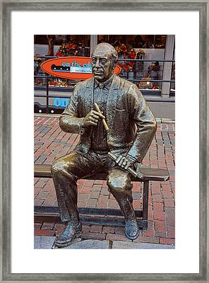 Arnold 'red' Auerbach Framed Print by Mike Martin