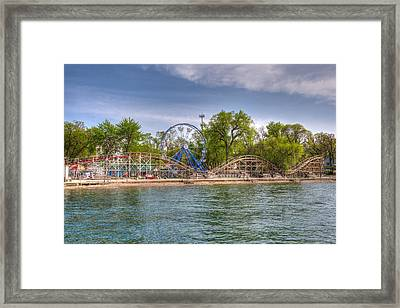 Arnolds Park  Framed Print by Shane Mossman