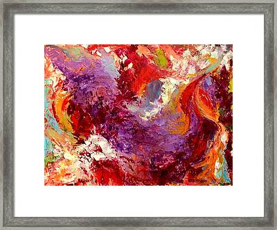 Framed Print featuring the painting Aromatic Mixtures by Nicolas Bouteneff