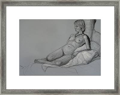 Aroona 2 Framed Print by Donelli  DiMaria