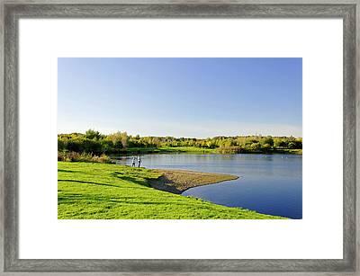 Around Barton Marina Lake Framed Print