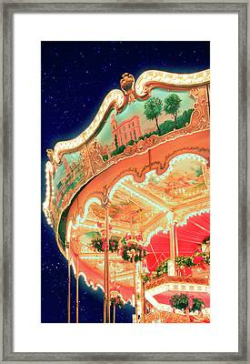 Around Christmas Framed Print