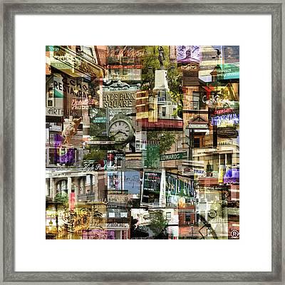 Around Hyde Park 1 Framed Print by Robert Glover