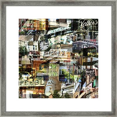 Around Hyde Park 2 Framed Print