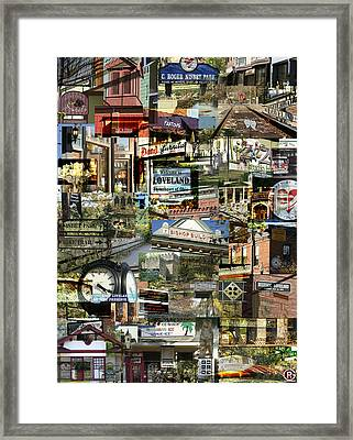 Around Loveland Framed Print