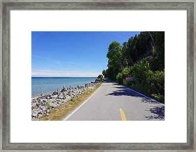 Around Mackinac Island Framed Print