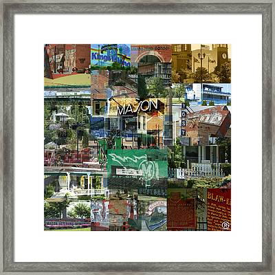 Around Mason 3 Framed Print