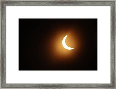 Around Peak Time Eclipse Framed Print