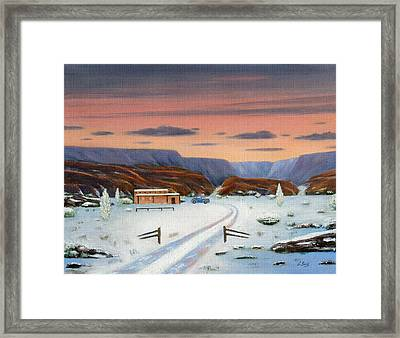 Around Sundown Framed Print by Gordon Beck