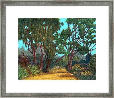 Around The Bend 02 Framed Print