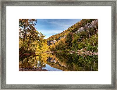 Around The Bend Framed Print by James Barber