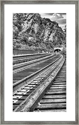 Around The Bend Framed Print by JC Findley