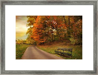Around The Bend Framed Print by Jessica Jenney